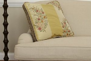 Sofa with pillow